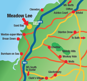 Meadow Lee - map