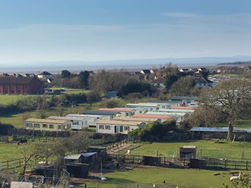 View of Meadow Lee caravan park