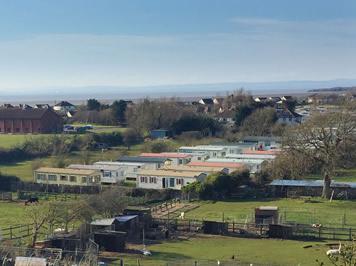 View of Meadow Lee caravan park